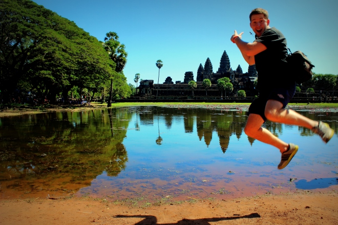 Enjoying Angkor Wat in 2013