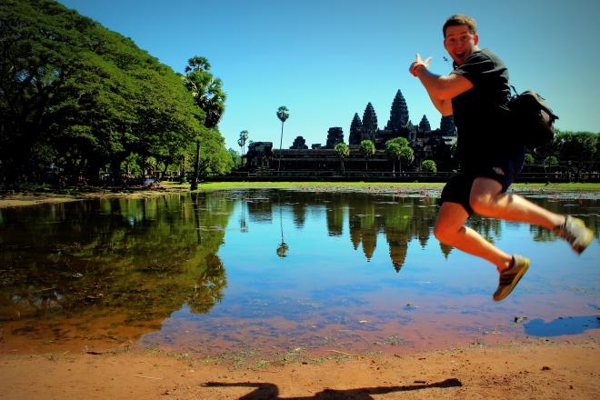Enjoying Angkor Wat in 2013