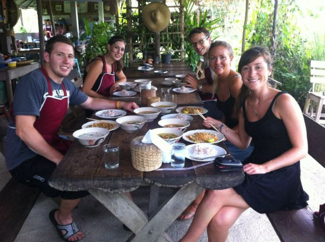 Be spontaneous - it's fun! Cooking class in Chiang Mai, Thailand