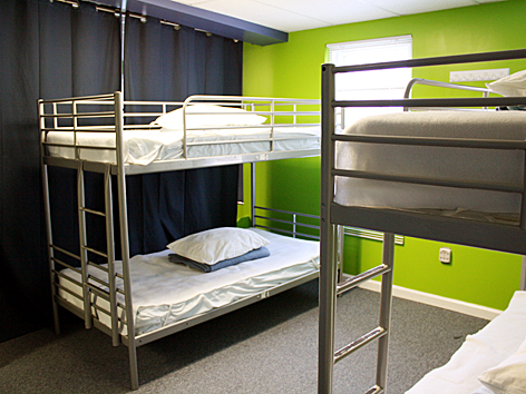 Hostels are great for cheap accommodation and for meeting people too! Source: exploringtokyo.com
