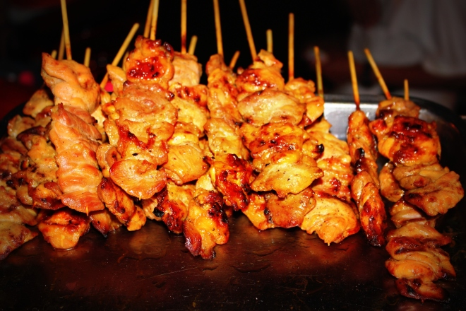 Street food will be your friend on your travels!